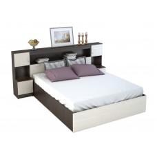 Кровать Бася с закроватным модулем КР 552