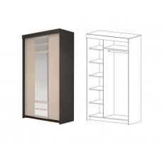 Юнона шкаф купе 1,2 м